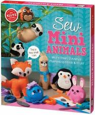 Sew Mini Animals: More Than 12 Animal Plushies to Stitch & Stuff (Bookbook - Det