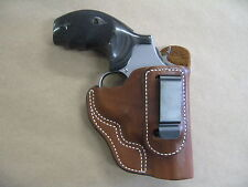 Smith & Wesson K/L Revolver S&W IWB Leather In The Waistband Carry Holster TAN