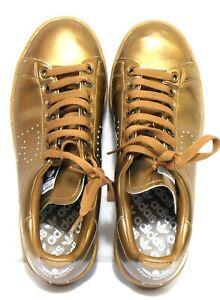 Adidas Raf Simons copper leather sneakers,  sz. 9 AUS