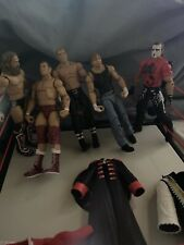 wwe elite bundle, 5 Pack Great Condition With Accessories And A Belt