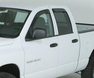 2003 - 2009 In-Channel Vent Visors Dodge Ram 2500/3500 Quad Cab