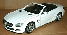 1/24 Mercedes Benz SL500 Roadster Diecast Model Car BiTurbo V8 R231 Welly 24041