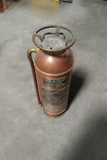 Vintage Knight & Thomas Inc. Copper Fire Extinguisher The Underwritters