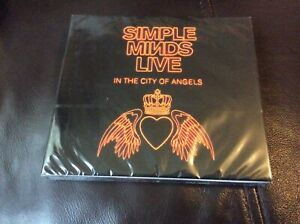 SIMPLE MINDS LIVE IN THE CITY OF ANGELS DOUBLE CD DIGIPAK NEW AND SEALED. F1