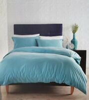 Evolve By Christy Inca Single Duvet Set Jade 100% Cotton