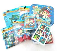 Jake And Neverland Pirates Birthday Party Supply Set Lot Supplies 8 Guests NEW