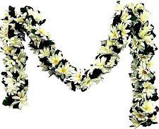 Cream Ivory Daisy Garland Artificial Silk Flowers Wedding Arch Runner Backdrop