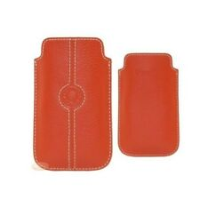 Etui Façonnable Samsung Galaxy S/s2 Orange