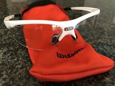 Free Shipping Wilson Nvue Clear Lens Unisex Pickleball Racquetball Glasses