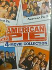 American+Pie+4-Movie+Collection+DVD+Jason+Biggs+NEW+all+not+rated++