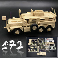 1:72 US Army Cougar 6x6 Mrap Vehicle American Modern Military Assemble Model-Kit