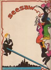"""""""Seesaw""""   Souvenir Program   1973   Tommy Tune, Michele Lee, John Gavin"""