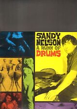 SANDY NELSON - a hunk of drums LP