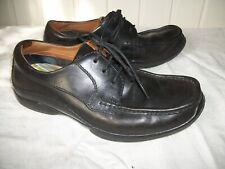 Chaussures détente mocassins à lacets CLARKS 6 39 FLEXLIGHT cuir noir