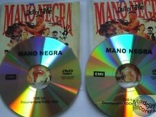 MANO NEGRA OUT OF TIME 2X DVD PROMO no cd MANU CHAO