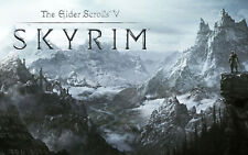 Video Game Mouse Pad Skyrim #194 7.75x9.25 Can Do Custom Also