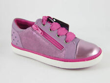 Clarks Leather Upper Shoes for Girls Casual Zip