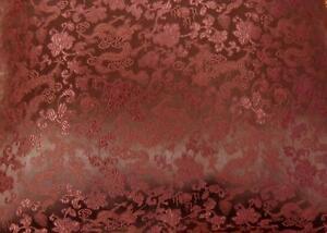 Faux Silk Brocade (Oriental Dragon) Jacquard Damask Kimono Fabric Material BL3