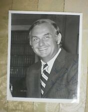 New listing Republican Senator Lowell Weicker Jr Signed Autographed 8x10 Photo