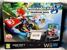 Nintendo Wii U Console 32gb Premium - Mario Kart 8 BUNDLE - Tested - Boxed VGC