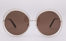Brand New Chloe Sunglasses CE 114S Color 743 Gold/ Brown  Women