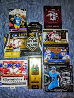 2020 NFL Mystery Pack🔥LOOK For Top Rookies Burrow Tua Herbert 🔥 High end cards