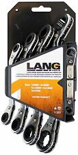 Lang Tools 5PC Metric Offset Ratchet Ratcheting Box Wrench Set - Made in USA