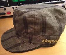 Quiksilver Military Cap Brown Tan Women's Hat One Size