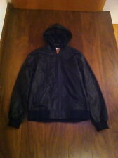 """DC x SixPack collabo """"non merci"""" metro Leather Varsity Jacket very RARE SOLD OUT"""