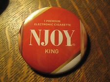 NJoy E Electronic Vapor Cigarette Repurposed Advertisement Ad Pocket Mirror