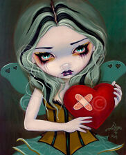 ART PRINT Mending a Broken Heart by Jasmine Becket-Griffith 14x11 Gothic Poster