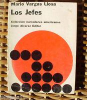 Los jefes, Mario Vargas Llosa, Jorge Alvarez Editor, Buenos Aires, año 1965