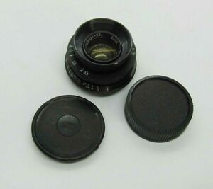 KMZ Helios-33 2/35 PO OKS OKC Cine Lens with helicoid M39 mount camera Sony NEX