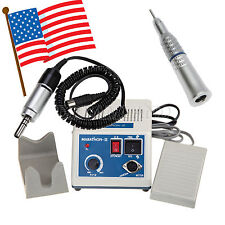 Dental Lab Marathon Electric Micro Motor + 1X Straight Slow Speed Handpiece JKLZ
