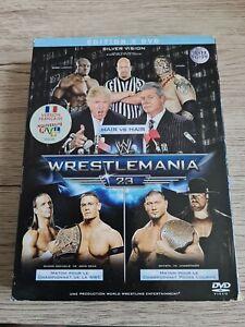 Coffret 3 DVD Wrestlemania 23 VERSION FRANÇAISE RARE