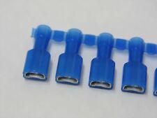 (Lot de 50) cosse isolée bleue 6.35mm femelle faston à sertir Panduit