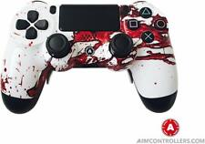 PS4 Slim DualShock Custom AimControllers Dexter Design with 4 Paddles!!!