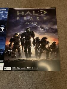 1 Halo Reach Launch Poster