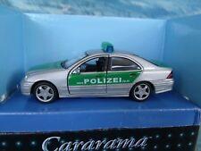 1/43  Cararama Mercedes C classe  Police