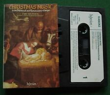 Christmas Music The Sixteen Harry Christophers Cassette Tape - TESTED