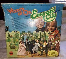 Vintage Wizard of Oz Mego Figure & Emerald City Playset 1974