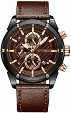 Mens Business Watches Military Sports Chronograph Large Face Designer Dress Wate