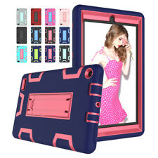For Amazon Kindle Fire 7 2019 9th Gen Hybrid Shockproof Heavy Tablet Rugged Case