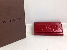 Auth Louis Vuitton Vernis Multicles 4 key holder enamel 6G060100S