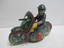 POLICE MOTORCYCLE FRICTION POWERED GOOD CONDITION MADE IN JAPAN
