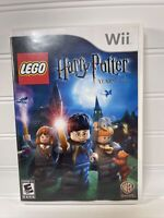 LEGO Harry Potter: Years 1-4 Game - Nintendo Wii - Fast Free Ship