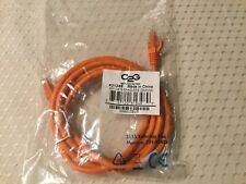 C2G CAT6 Ethernet Cable; 5'; Orange
