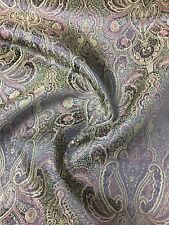 """Brocade Chinese floral / Paisley blossom oriental Multicolour 36""""(91 Cm) Wide"""