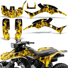 Graphic Kit Honda TRX300EX ATV Quad Decal Sticker Wrap TRX 300 EX 93-06 ICE YLLW