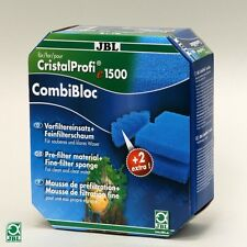 JBL Cristalprofi COMBIBLOC E1500 E1501 E1901 Schiuma Spugna Media FILTRO GREENLINE